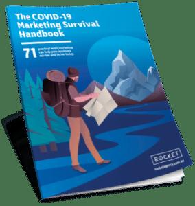 COVID 19 survival handbook book cover image