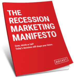 reciession marketing manifesto book cover