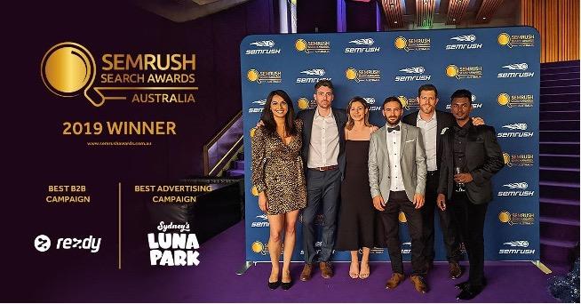 Rocket Semrush Awards night 2019